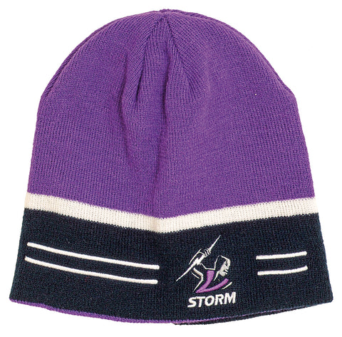 Melbourne Storm NRL Switch Reversible Beanie