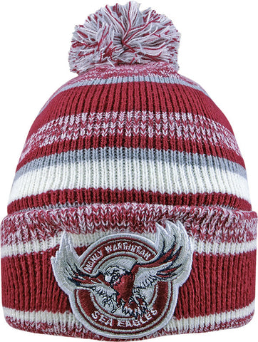 Manly Sea Eagles NRL Dynamo Pom Pom Beanie