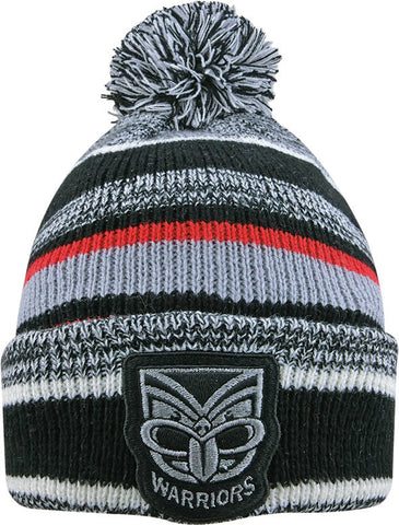 New Zealand Warriors NRL Dynamo Pom Pom Beanie