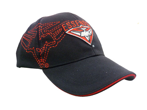 Essendon Bombers Mens Essentials Cap - Spectator Sports Online
