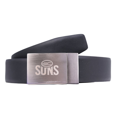 Gold Coast Suns Leather Belt