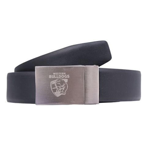 Western Bulldogs Leather Belt