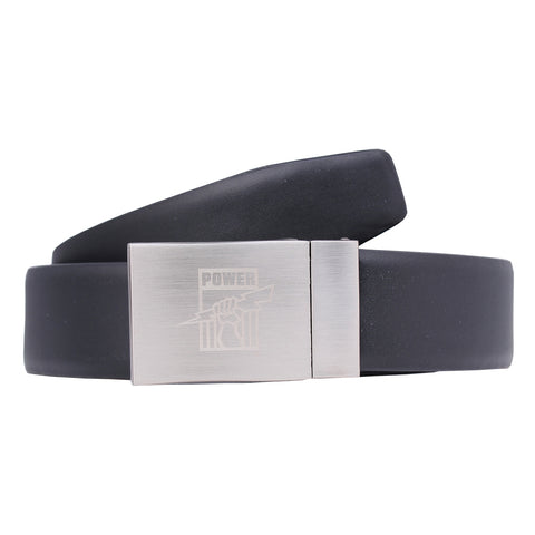 Port Adelaide Power Leather Belt