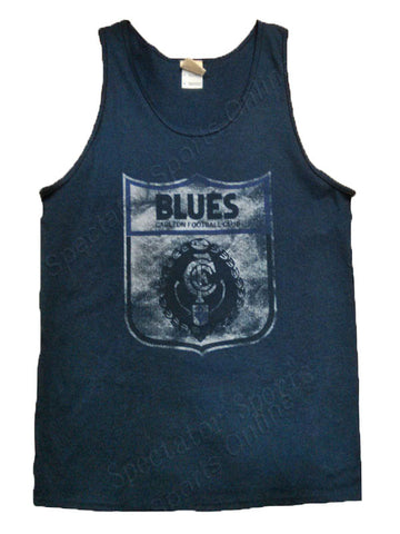 Carlton Blues Mens Retro Singlet - Spectator Sports Online
