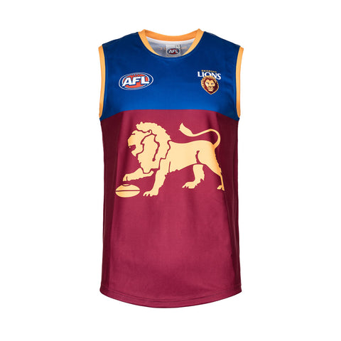 Brisbane Lions Mens Footy Jumper Guernsey