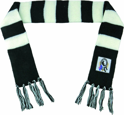 Collingwood Magpies Baby Scarf