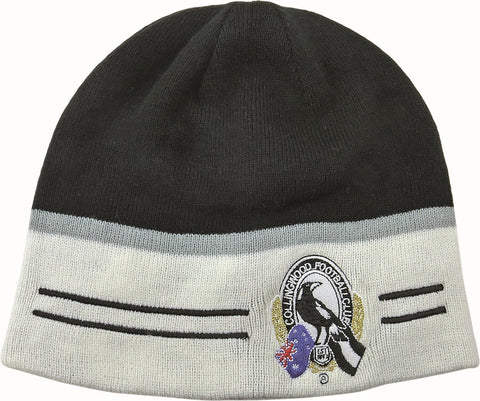 Collingwood Magpies Reversible Beanie - Spectator Sports Online - 1