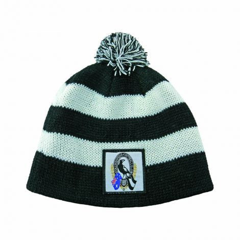 Collingwood Magpies Baby Beanie - Spectator Sports Online