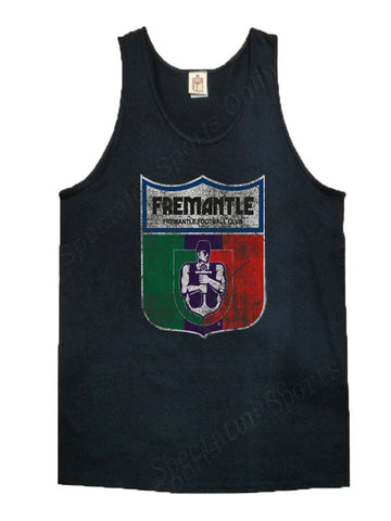 Fremantle Dockers Mens Retro Singlet - Spectator Sports Online