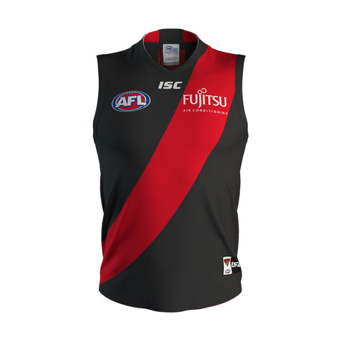 Essendon Bombers ISC Mens Adults Onfield Jumper Guernsey