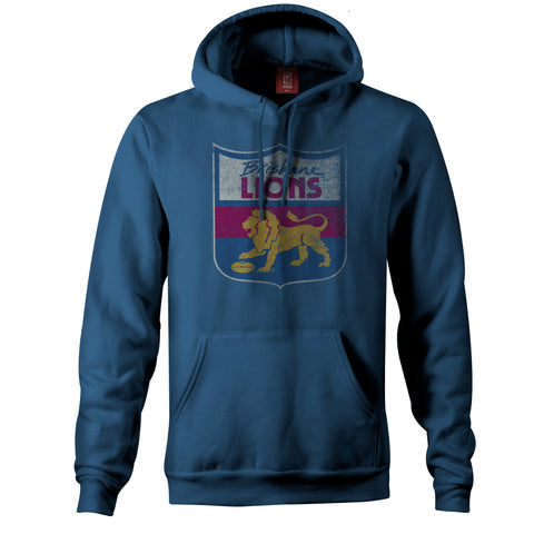Brisbane Lions Essentials Retro Hoody