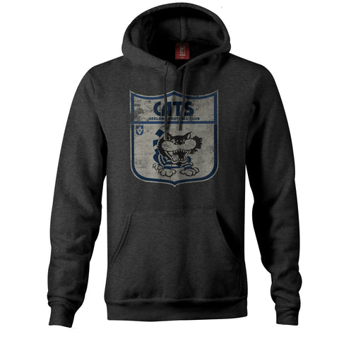 Geelong Cats Essentials Retro Hoody