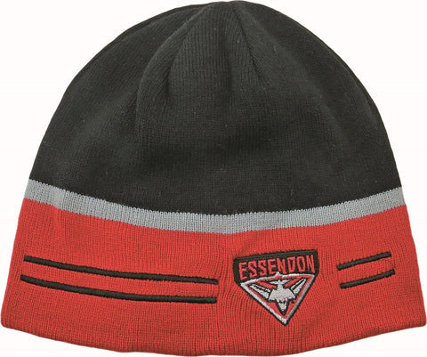 Essendon Bombers Reversible Beanie - Spectator Sports Online - 1