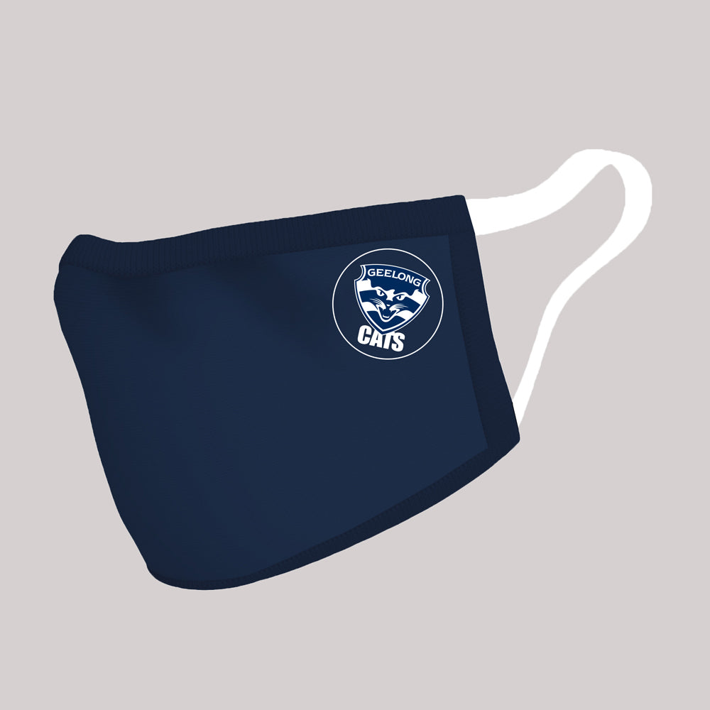 Geelong Cats Adults Afl Face Masks