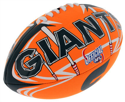 "Greater Western Sydney GWS Giants 6"" Soft Touch Ball - Spectator Sports Online"