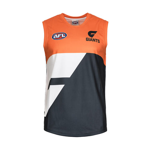 Greater Western Sydney GWS Giants Mens Footy Jumper Guernsey