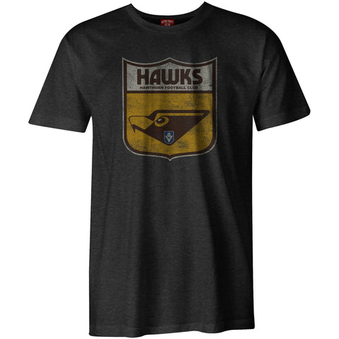 Hawthorn Hawks Mens Adults Heritage Retro Tee