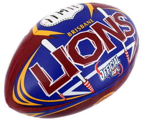"Brisbane Lions 6"" Soft Touch Ball - Spectator Sports Online"