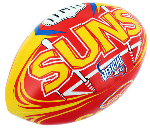 "Gold Coast Suns 6"" Soft Touch Ball - Spectator Sports Online"