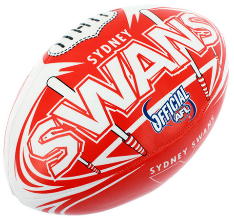 "Sydney Swans 6"" Soft Touch Ball - Spectator Sports Online"