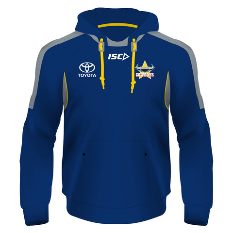 North Queensland Cowboys NRL 2018 ISC Players Mens Adults Pullover Squad Hoody