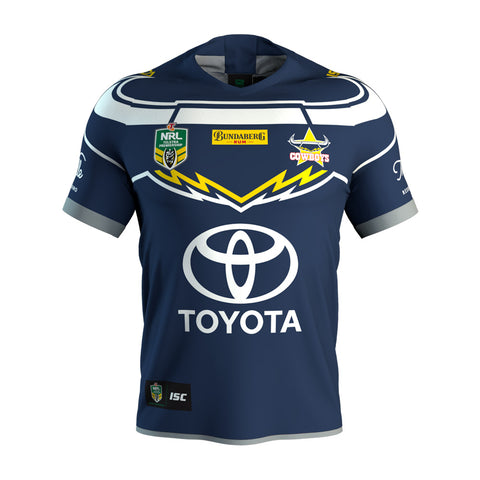 North Queensland Cowboys NRL ISC Mens Adults Onfield Jumper Guernsey