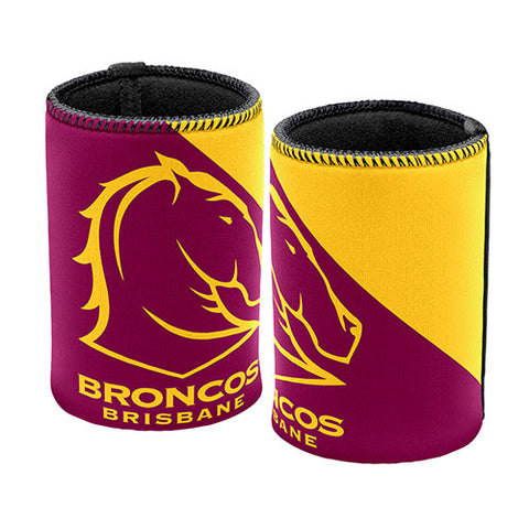 Brisbane Broncos Logo Can Cooler