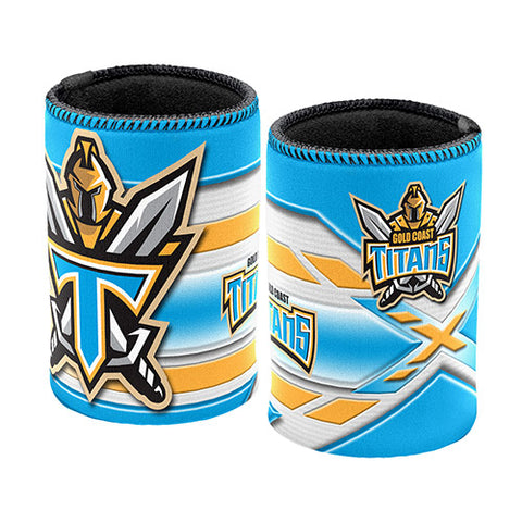 Gold Coast Titans Logo Can Cooler