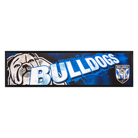 Canterbury Bulldogs Logo Bar Runner