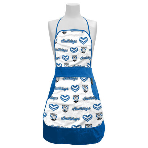 Canterbury Bulldogs Ladies Retro BBQ Apron