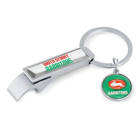 South Sydney Rabbitohs Bottle Opener Keyring