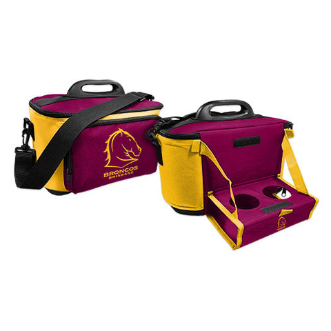 Brisbane Broncos Cooler Bag With Tray - Spectator Sports Online