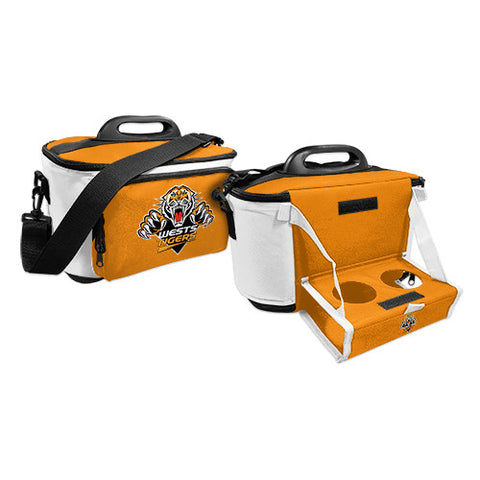 Wests Tigers Cooler Bag With Tray - Spectator Sports Online