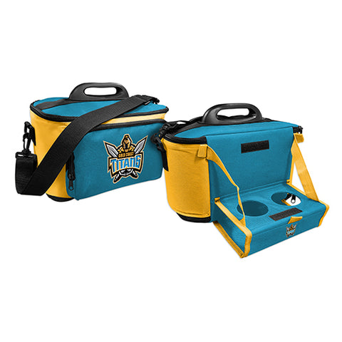 Gold Coast Titans Cooler Bag With Tray