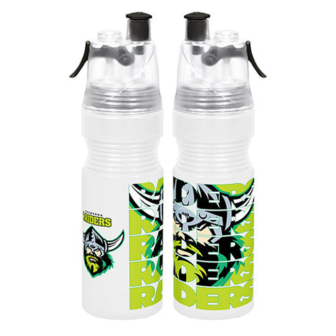 Canberra Raiders Misting Drink Bottle