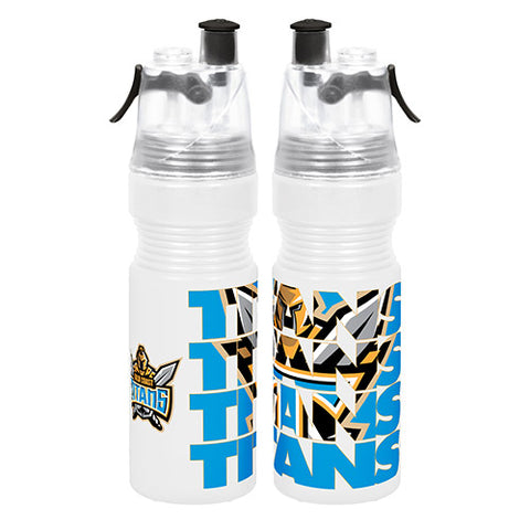 Gold Coast Titans Misting Drink Bottle