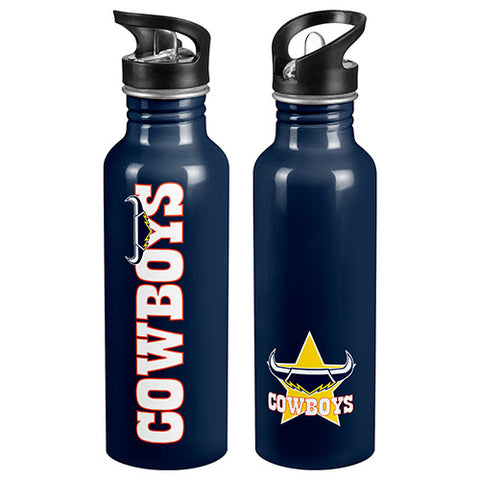 North Queensland Cowboys Aluminium Bottle