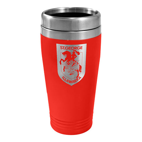 St George Dragons NRL Stainless Steel Travel Mug