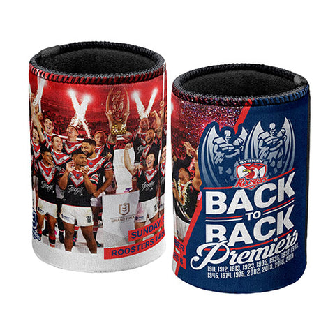 Sydney Roosters NRL 2019 Premiers Premiership Can Cooler P2