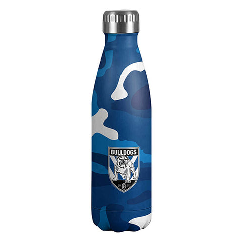 Canterbury Bulldogs Stainless Steel Wrap Bottle