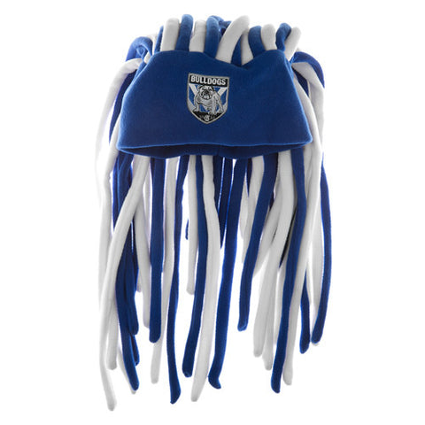 Canterbury Bulldogs Dreadlock Pez Beanie Fun Hat