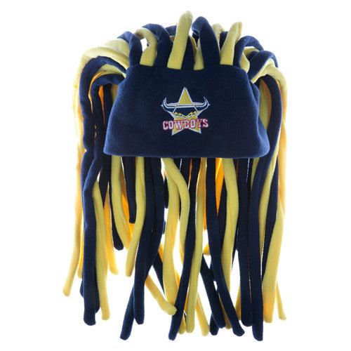 bc1bc191a North Queensland Cowboys Dreadlock Pez Beanie Fun Hat - Spectator Sports  Online