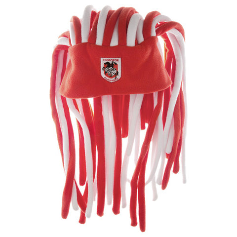 St George Dragons Dreadlock Pez Beanie Fun Hat - Spectator Sports Online