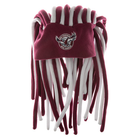 Manly Sea Eagles Dreadlock Pez Beanie Fun Hat - Spectator Sports Online