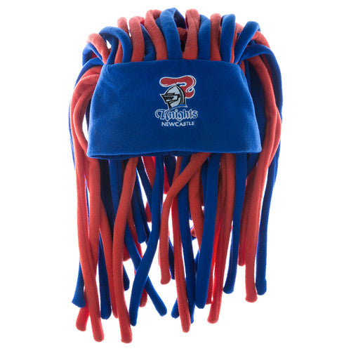 d4a222076 Newcastle Knights Dreadlock Pez Beanie Fun Hat - Spectator Sports Online