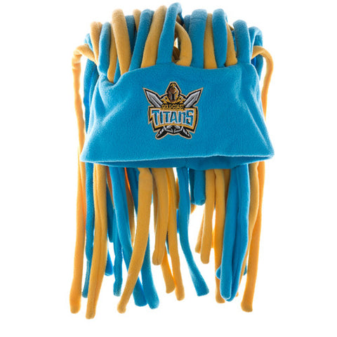 Gold Coast Titans Dreadlock Pez Beanie Fun Hat - Spectator Sports Online
