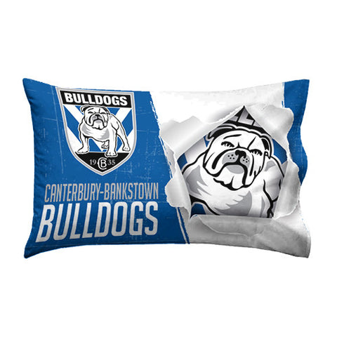 Canterbury Bulldogs Pillow Case - Spectator Sports Online