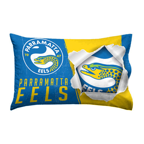 Parramatta Eels Pillow Case - Spectator Sports Online