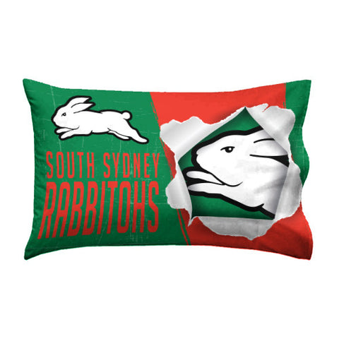South Sydney Rabbitohs Pillow Case - Spectator Sports Online