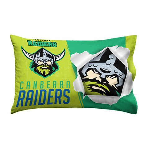 Canberra Raiders Pillow Case - Spectator Sports Online